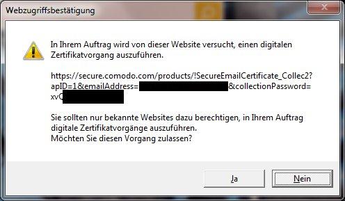 zertifikatsmeldung_IE